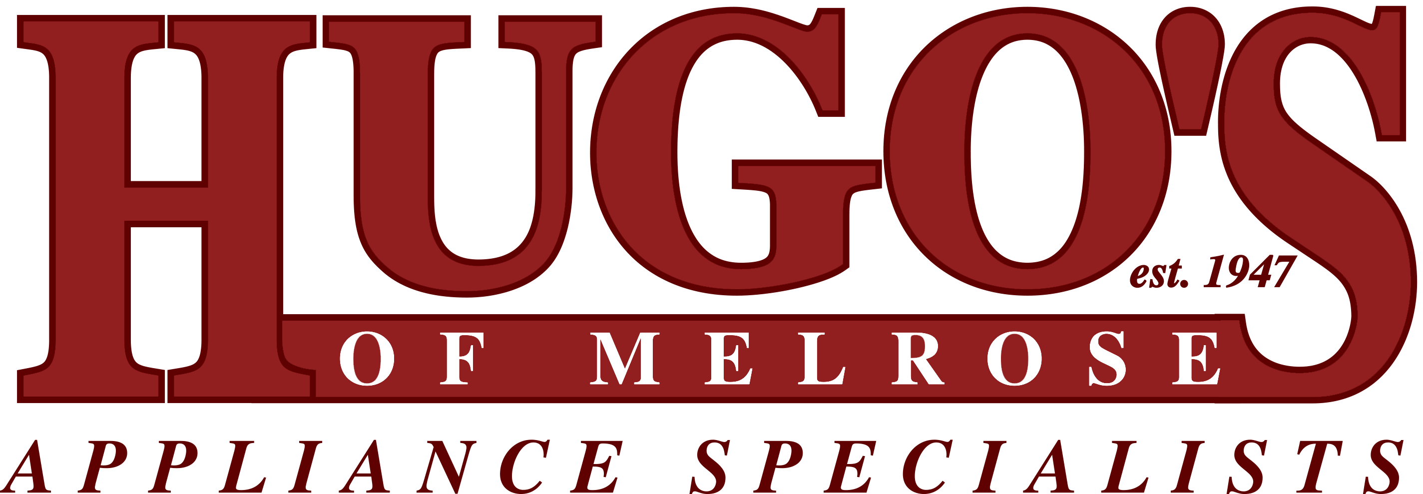 Hugo's Appliances Logo